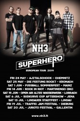 SUPERHERO EUROPEAN SUMMER TOUR